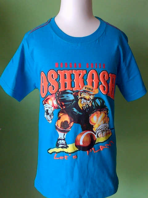 Kaos Anak Branded Oshkosh Man Greek Biru Baju