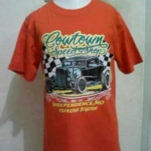 Kaos Anak Murah Oshkosh Cowtown Orange