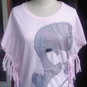 Baju Anak Perempuan Hearty Pink