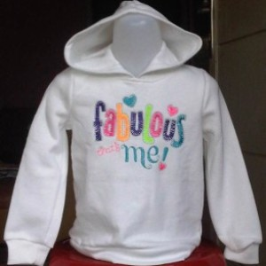 Sweater Anak Branded Fleece Jumping Beans FM Putih