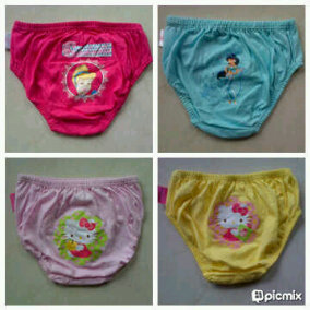 underwear disney & hello kitty