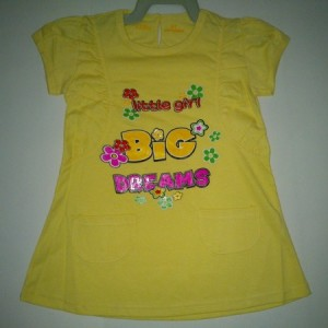 Dress Ettoi Little Girl Kuning
