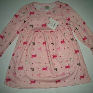 Grosir Dress Anak Branded Gymboree Puppies Pink
