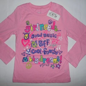 Baju Anak Place A Girl Needs Pink