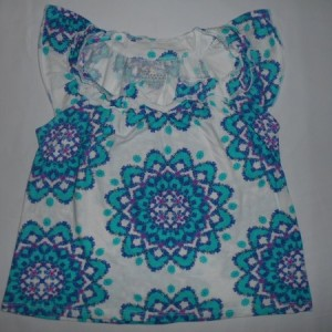 Blouse Anak Old Navy Bunga Putih