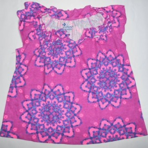 Blouse Anak Old Navy Bunga Ungu