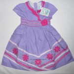 Dress Anak Aliza Bunga Garis