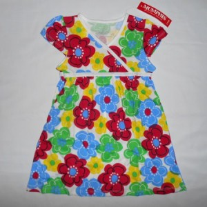 Dress Anak Mumphis Bunga Colorful