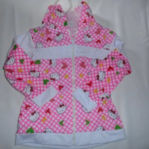 Jacket Anak Ettoi Hello Kitty Pink