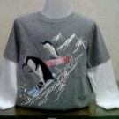 Baju Anak Branded Faded Glory Penguin