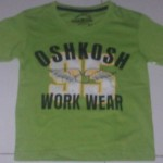 Baju Anak Branded Oshkosh Work Wear Hijau Muda