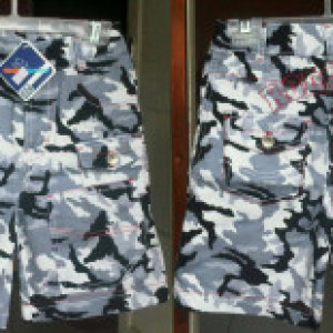 Celana Anak Branded Cargo Black White Army Rodeo