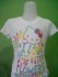Baju Anak Perempuan Branded Murah Hello Kitty Putih Colour Full