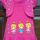 Dress Anak Branded Ettoi Bolero Pink