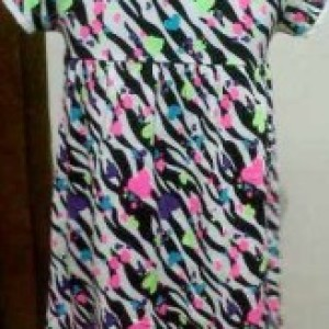 Dress Anak Oshkosh Belang Tangan Pendek