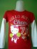 Baju Branded Anak Hello Kitty Ls Merah