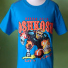 Kaos Anak Branded Oshkosh Morgan Greek Biru