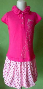 jual dress anak bermerk disney