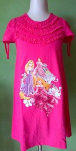 jual dress anak branded disney