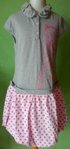 jual dress anak disney