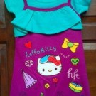 Jual Dress Anak Ettoi Hello Kitty Ungu