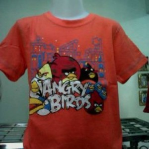 Model Baju Anak Oskosh Angry Bird Orange Salem