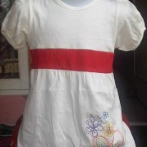 Jual Dress Anak Max Putih