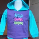 Sweater Anak Branded Fleece Jumping Beans SSA Biru