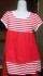 Dress Anak Branded Oshkosh Putih Merah