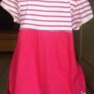 Dress Anak Branded Oshkosh Putih Pink