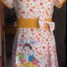 Dress Anak Disney Bunga Kecil Orange