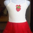 Dress Tutu Anak Import Cina Merah