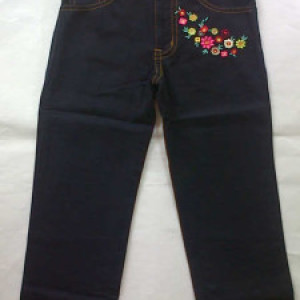 Pants Anak Canvas The Bee Hitam