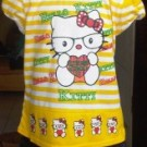 Stelan Anak Hello Kitty Kuning