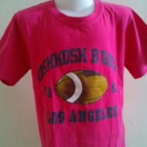 Baju Anak Branded Oshkosh Los Angeles Merah Muda