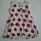 Dress Anak Exist Polkadot Ungu