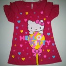 Dress Anak Ettoi Hello Kitty Pink Pita