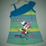 Dress Anak Ettoi Minnie Mouse Belang