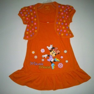Dress Ettoi Rompi Bintang Minnie