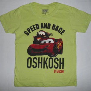 Baju Anak Oshkosh Cars Speed And Race Hijau