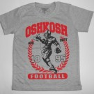 Baju Anak Oshkosh Football Abu-Abu