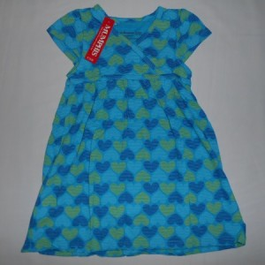 Dress Anak Mumphis Love Biru