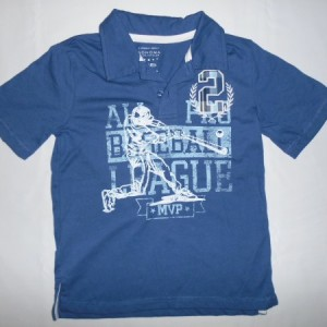 Baju Anak Sonoma All Baseball League Biru