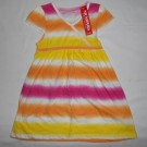 Dress Anak Mumphis Belang Kuning