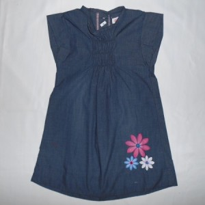 Dress Anak Little Eight Bunga Biru