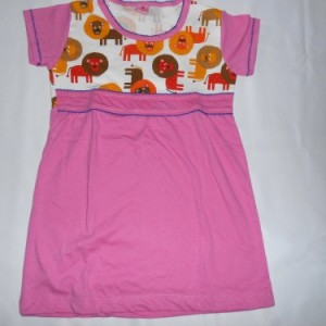 Dress Anak Candle Lion Pink