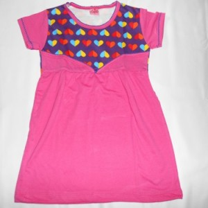 Dress Anak Candle Love Pink