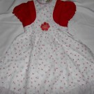 Dress Anak Olen Bunga Merah