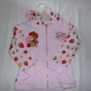 Jacket Anak Ettoi Strawberry Pink